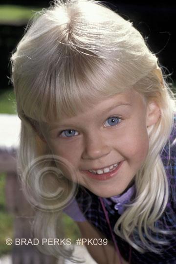 blonde hair, blue eyes and