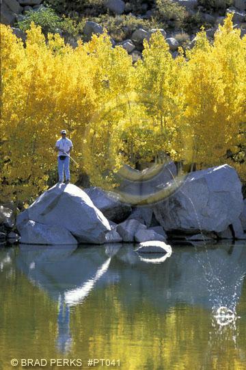 Picture going fishing bishop creek california royalty for Bishop creek fishing